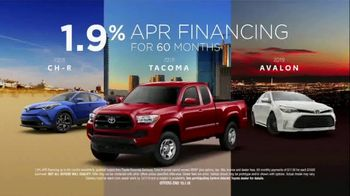 Toyota TV Spot, 'Low APR Financing' [T2] - Thumbnail 4