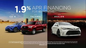 Toyota TV Spot, 'Low APR Financing' [T2] - Thumbnail 5