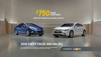 2018 Chevrolet Malibu TV Spot, 'All of the Features' [T2]