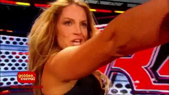 Golden Corral TV Spot, 'WWE Superstars' Feat. Trish Stratus - 1 commercial airings