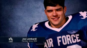 USAA TV Spot, 'Member Voices: Joe Lombardi' - 2262 commercial airings