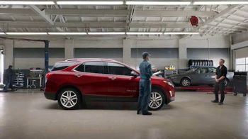 2018 Chevrolet Equinox TV Spot, 'Collision Shop' [T2]