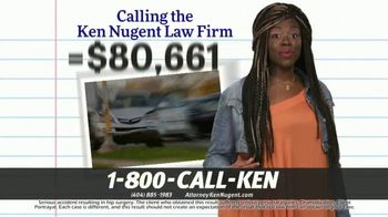 Kenneth S. Nugent: Attorneys at Law TV Spot, 'That Adds Up' - Thumbnail 5