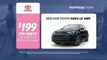 AutoNation Toyota TV Spot, 'Drive Pink: 2018 RAV4' Song by Andy Grammer - Thumbnail 7