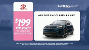 AutoNation Toyota TV Spot, 'Drive Pink: 2018 RAV4' Song by Andy Grammer - Thumbnail 8