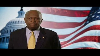 America Fighting Back PAC TV Spot, 'Pledge Your Support' Feat. Herman Cain - Thumbnail 1