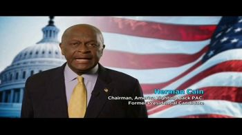 America Fighting Back PAC TV Spot, 'Pledge Your Support' Feat. Herman Cain - Thumbnail 2
