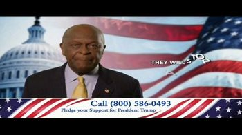 America Fighting Back PAC TV Spot, 'Pledge Your Support' Feat. Herman Cain - Thumbnail 6