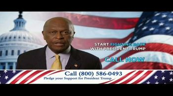 America Fighting Back PAC TV Spot, 'Pledge Your Support' Feat. Herman Cain - 1 commercial airings