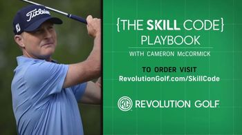 Revolution Golf TV Spot, 'Skill Code Playbook' Featuring Cameron McCormick - Thumbnail 9