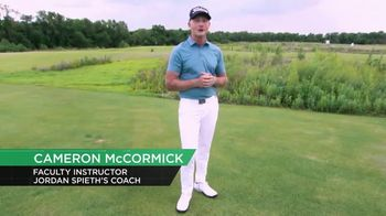 Revolution Golf TV Spot, 'Skill Code Playbook' Featuring Cameron McCormick
