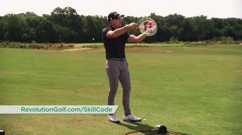 Revolution Golf TV Spot, 'Skill Code Playbook' Featuring Cameron McCormick - Thumbnail 4