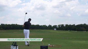 Revolution Golf TV Spot, 'Skill Code Playbook' Featuring Cameron McCormick - Thumbnail 5