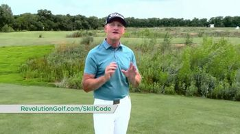 Revolution Golf TV Spot, 'Skill Code Playbook' Featuring Cameron McCormick - Thumbnail 8