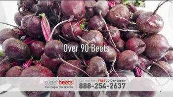 SuperBeets TV Spot, 'Less Energy Than You Used to Have'