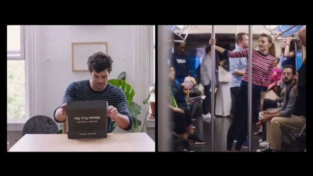 5768bfe67c Warby Parker Home Try-On TV Commercial
