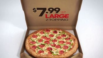 Pizza Hut $7.99 Large 2-Topping Pizza TV Spot, 'Coming for the Deal' - Thumbnail 10