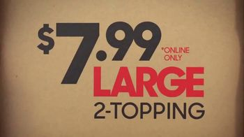 Pizza Hut $7.99 Large 2-Topping Pizza TV Spot, 'Coming for the Deal' - Thumbnail 8