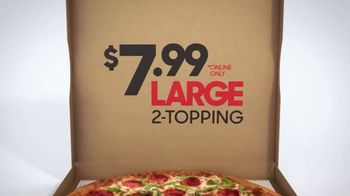 Pizza Hut $7.99 Large 2-Topping Pizza TV Spot, 'Coming for the Deal' - Thumbnail 9