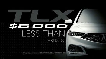2019 Acura TLX TV Spot, 'Competition?' [T2] - Thumbnail 6