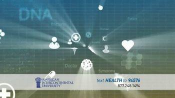 American InterContinental University TV Spot, 'Atlanta Healthcare Management' - Thumbnail 1