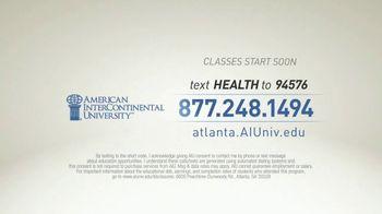 American InterContinental University TV Spot, 'Atlanta Healthcare Management' - Thumbnail 8