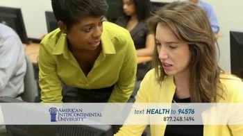 American InterContinental University TV Spot, 'Atlanta Healthcare Management' - Thumbnail 4