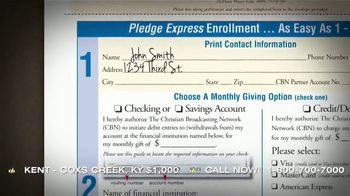 CBN TV Spot, 'Pledge Express: Give to CBN' - Thumbnail 5