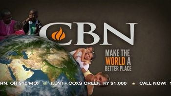CBN TV Spot, 'Pledge Express: Give to CBN'