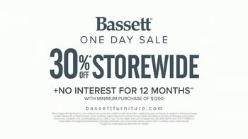 Bassett One Day Sale TV Spot, 'Beautifully' - Thumbnail 10