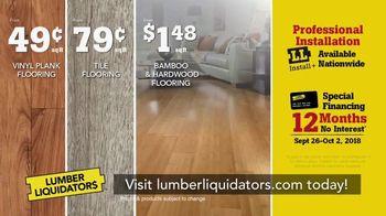 Lumber Liquidators TV Spot, 'Makeover Your Home for Less' - Thumbnail 9