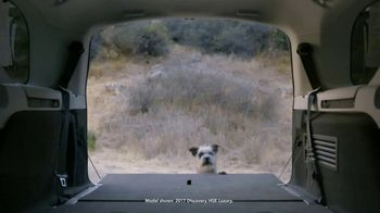 2018 Land Rover Discovery TV Spot, 'Electronic Air Suspension: Dog' [T2] - Thumbnail 2