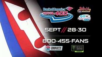Charlotte Motor Speedway TV Spot, '2018 Bank of America Roval 400' - Thumbnail 9