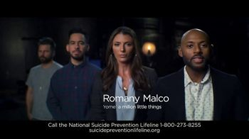 National Suicide Prevention Lifeline TV Spot, 'If You're Struggling' Ft. James Roday, Romany Malco