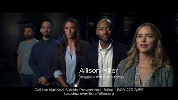 National Suicide Prevention Lifeline TV Spot, 'If You're Struggling' Ft. James Roday, Romany Malco - Thumbnail 4