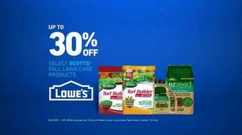 Lowe's TV Spot, 'Fall Lawn Care: 30 Percent Off' - Thumbnail 7