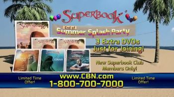 Superbook End of Summer Splash Party TV Spot, 'Join the Fun' - Thumbnail 5