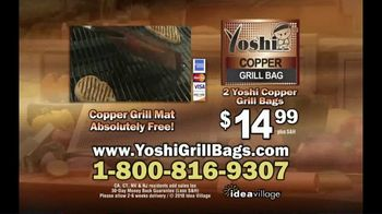 Yoshi Copper Grill Bag TV Spot, 'Grilling Is in the Bag' - Thumbnail 10