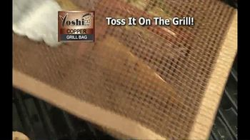 Yoshi Copper Grill Bag TV Spot, 'Grilling Is in the Bag' - Thumbnail 4