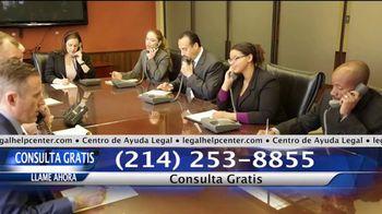 Legal Help Center TV Spot, 'Profesionales legales en vivo' [Spanish]