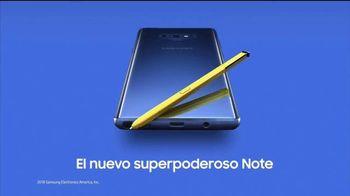 Samsung Galaxy Note9 TV Spot, 'Todo lo que necesitas' [Spanish] - Thumbnail 10