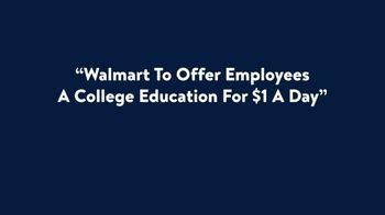 Walmart TV Spot, 'A College Education for $1 a Day' - Thumbnail 1