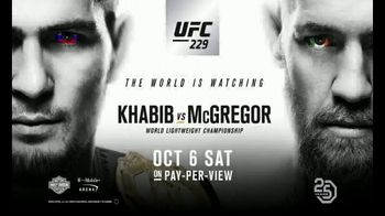 UFC 229 TV Spot, 'McGregor vs. Khabib: Goosebumps' - Thumbnail 8