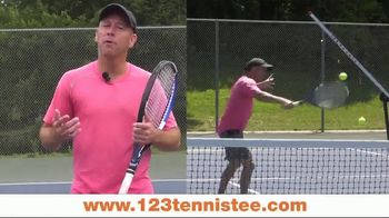 1-2-3 Tennis Tee TV Spot, 'Setup' - Thumbnail 2