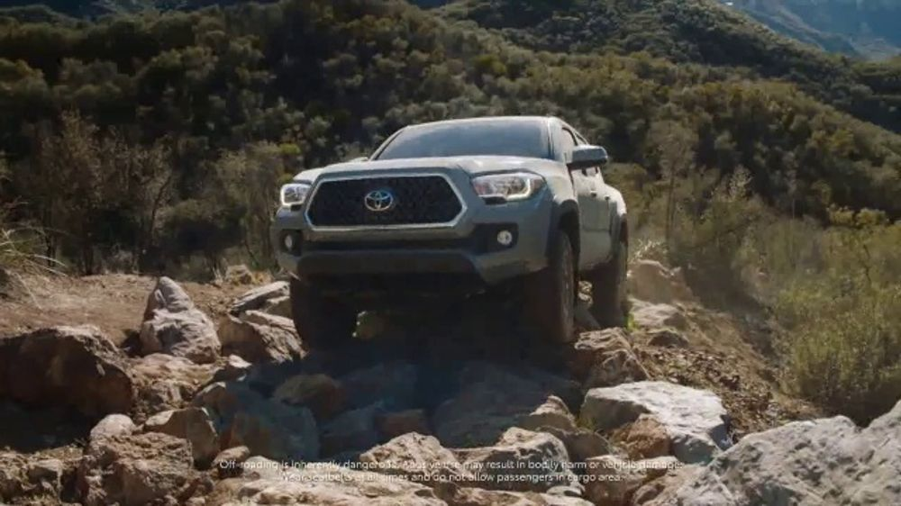 2018 Toyota Tacoma TV Commercial, 'Tacoma Generations' Featuring Jamie Bestwick [T2]