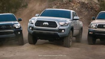 2018 Toyota Tacoma TV Spot, 'Tacoma Generations' Featuring Jamie Bestwick [T2] - Thumbnail 4