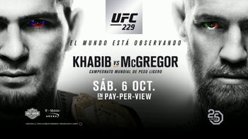 UFC 229 TV Spot, 'Khabib vs. McGregor' [Spanish]