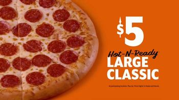 Little Caesars Pizza Hot-N-Ready Large Classic TV Spot, 'High Five' - Thumbnail 9
