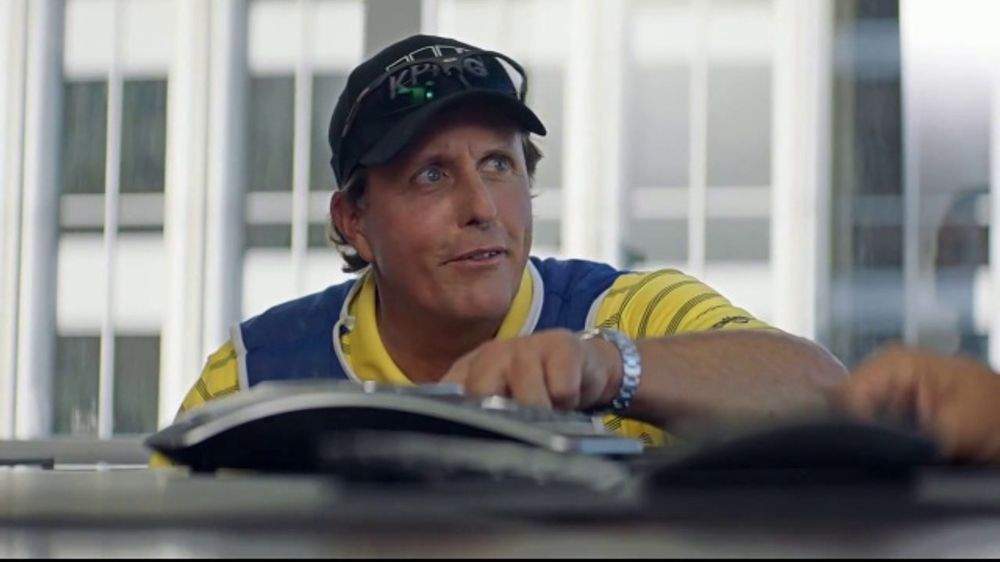 Workday TV Commercial, 'Business Caddie' Featuring Andy Buckley, Phil Mickelson