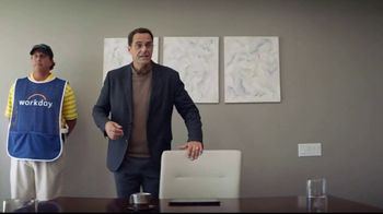Workday TV Spot, 'Business Caddie' Featuring Andy Buckley, Phil Mickelson - Thumbnail 4
